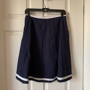 Boden 4R Navy Blue Skirt - Like New, Worn Once